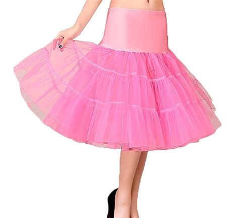 CoutureBridal - Enaguas cortas - para mujer Rosa XL