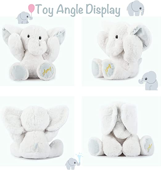 whitered dream Stuffed Elephant kids toy for every age.