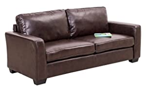 Royaloak Daisy Three Seater Sofa (Brown)
