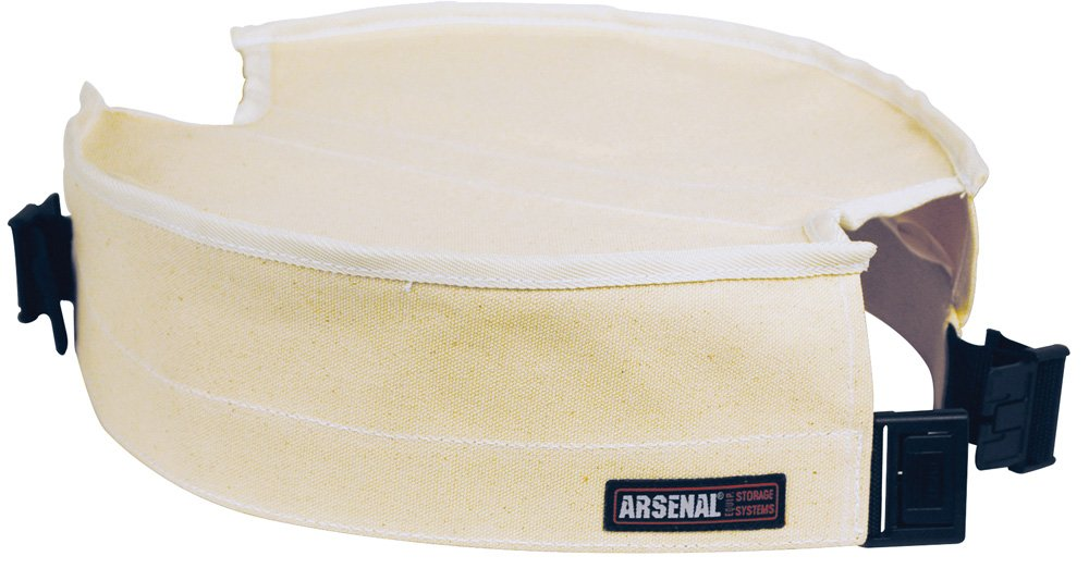 Arsenal 5738 Canvas Tool Bucket Safety Cover, 12.5''D