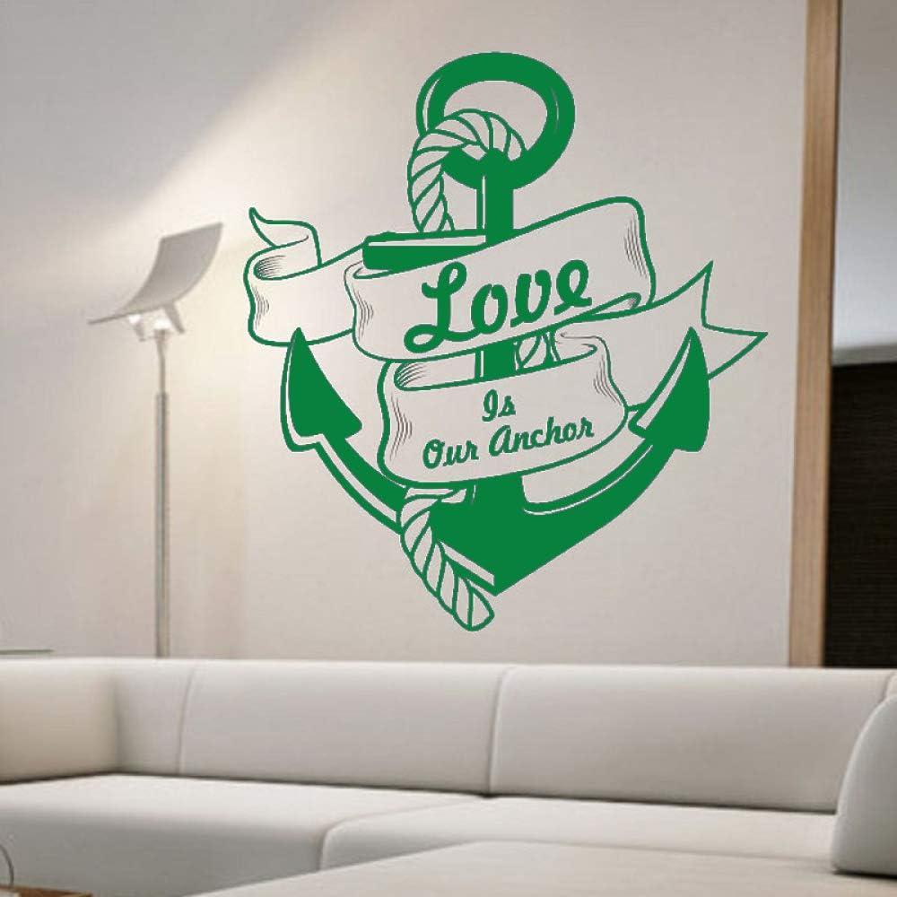 guijiumai Etiqueta de la Pared Love Is Our Wall Decals Vinilo ...