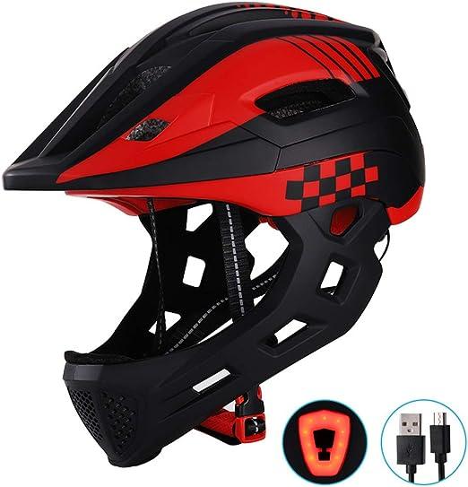Faviye Casco de Bicicleta para niños Casco de Skater Ajustable con ...