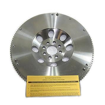 EFT rendimiento acero al cromo-molibdeno 19lbs volante para Nissan 370Z Infiniti G37 3.7L: Amazon.es: Coche y moto