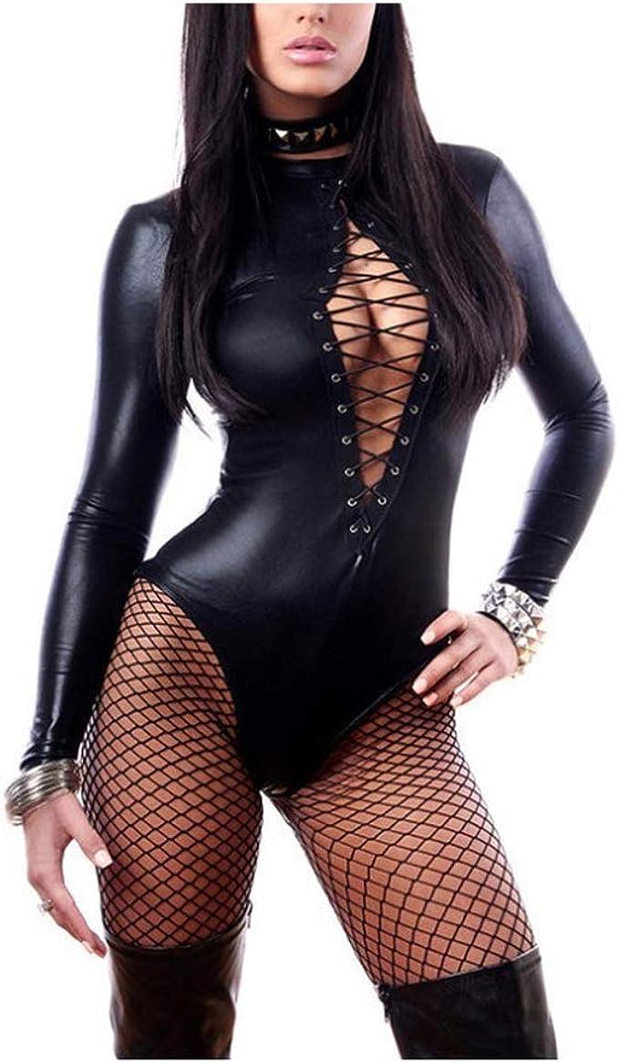 Amazon.com: Lencería Erotica Sexy Piel de Látex Muñeca Bebé ...