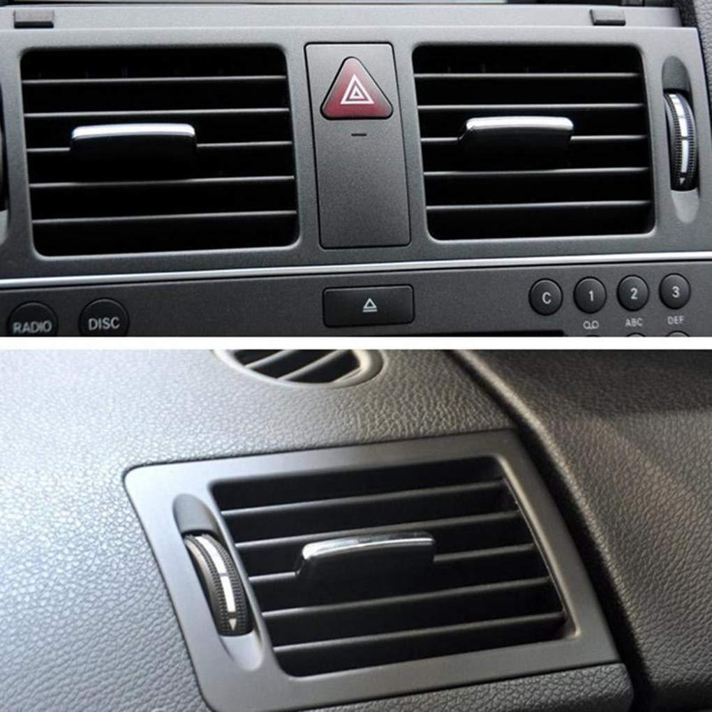 F-blue A//C Uscita Aria Vent Regolare Tab ABS kit di riparazione della clip replacemnt per Mercedes Benz W204 X204