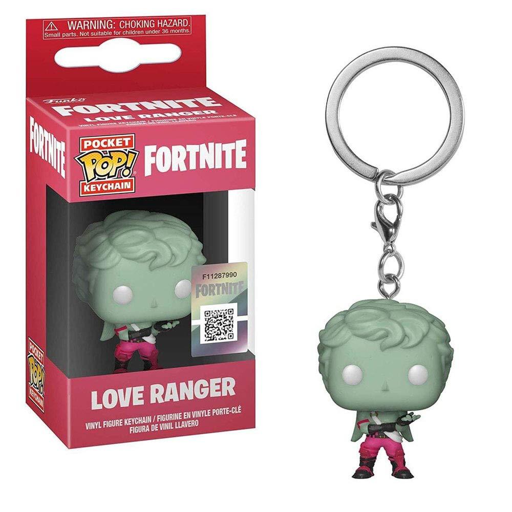Funko Pocket POP! Games Fortnite: Moonwalker and Dark Voyager Keychain Key Chain Toy Action Figures - 2 Piece Bundle