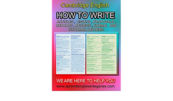 how to write articles essays proposals reports etc cambridge  buy for others
