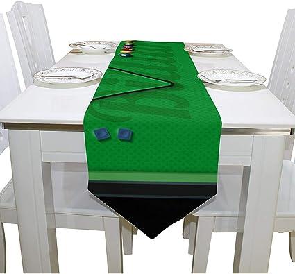 Tovaglia da Biliardo Professionale Accessorio per Tavolo da Biliardo ROKF Antipolvere in Fibra di Poliestere