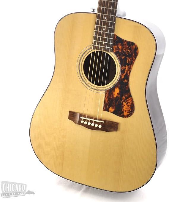 Hermandad® gad-25 Dreadnought Guitarra Acústica W/Carcasa Funda: Amazon.es: Instrumentos musicales