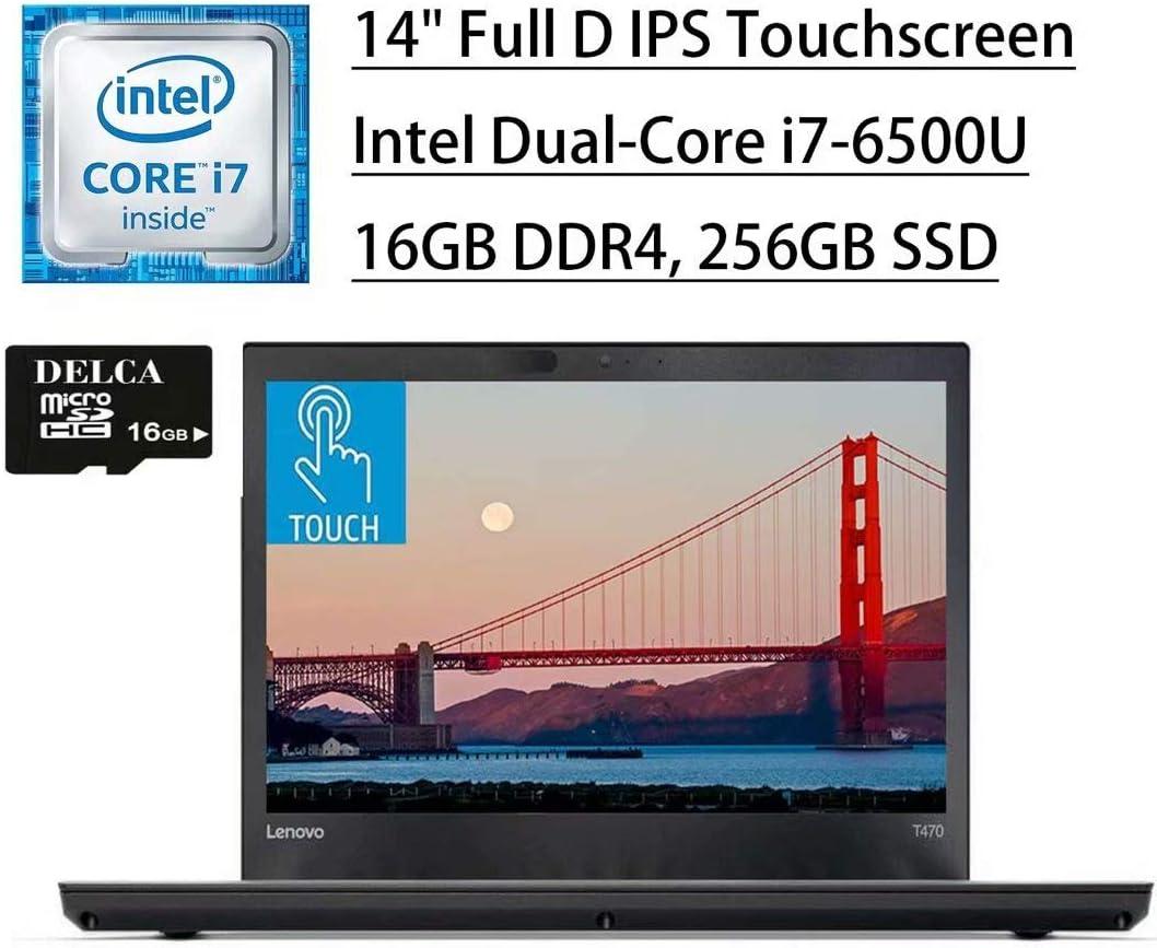 Lenovo Thinkpad T470 2020 Premium Business Thin and Light Laptop I 14
