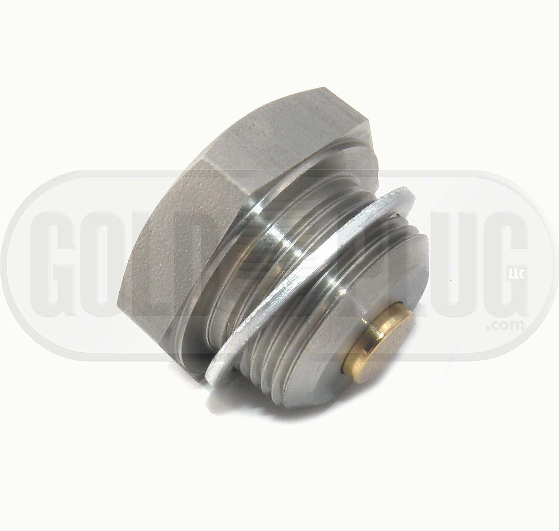 24mm Stainless Steel Magnetic Drain Plug AP-24 GoldPlug