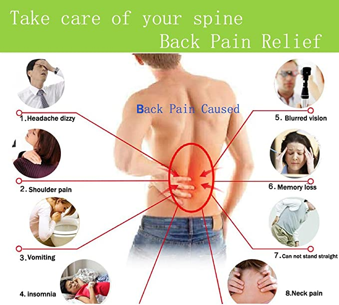 Amazon.com: Back Stretcher - Lower and Upper Back Pain Relief ...