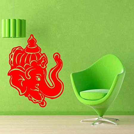 guijiumai Dctal Yoga Club Sticke Elephant Decal Posters Yug Vinyl ...