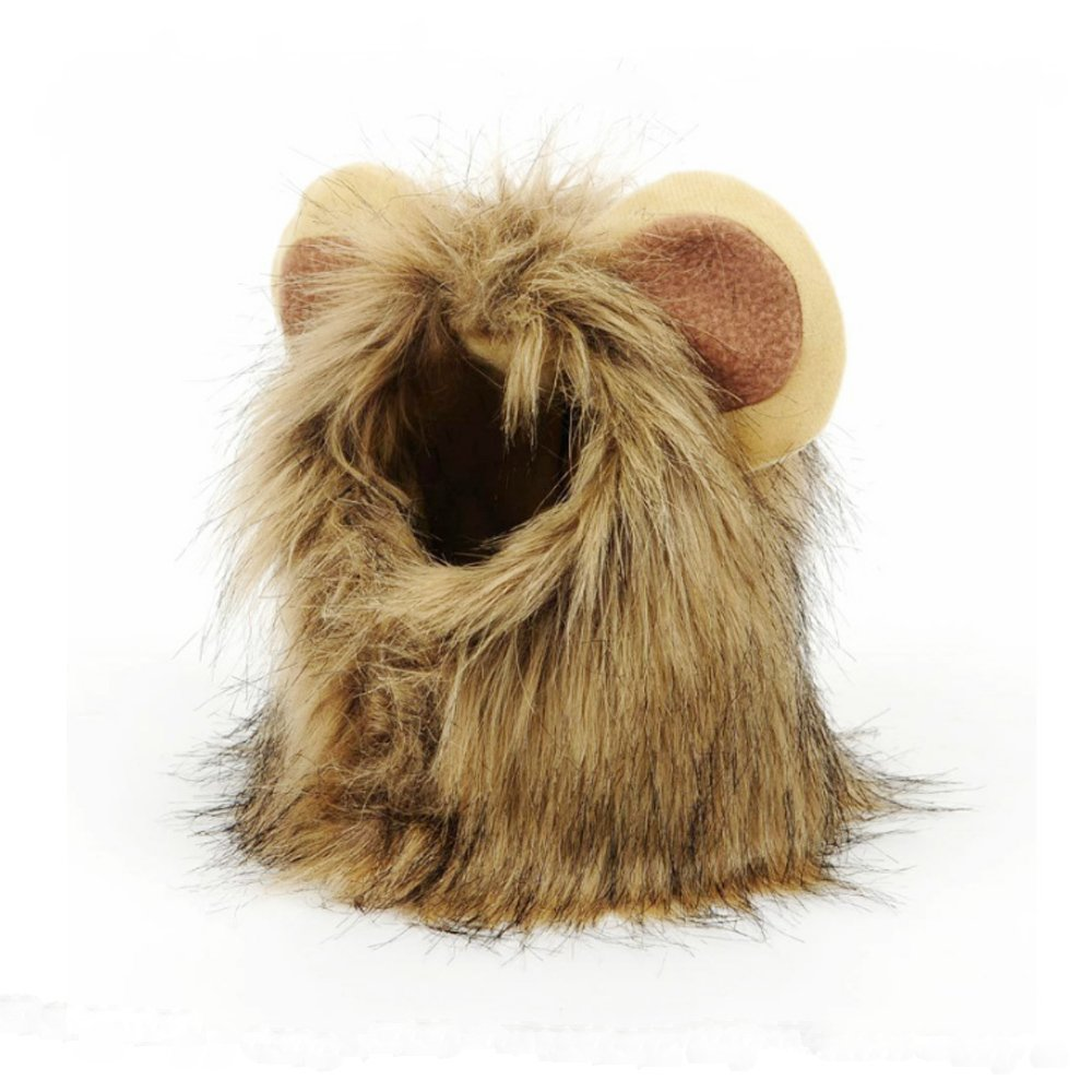 Gift Pet Supplies for the wig lion pet cosplay cap mane pet hat for ONine pet dogs and cats
