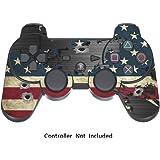 PS3 Pelli Giochi Playstation 3 Vinile Adesivi Controller Dualshock 3 Joystick PS3 Decalcomanie - Battle Torn Stripes