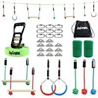 Deals on ZNCMRR Backyard Ninja Obstacle Course Line Training Equipment
