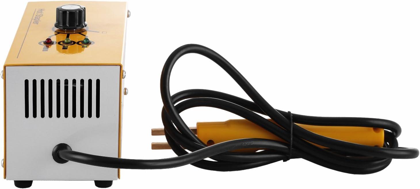 Mophorn Kit de Pistolet de R/éparation pour Soudeuse de r/éparation en Plastique Kit de Machine de Soudage pour R/éparation de Plastique de300 Agrafes 3 R/églages de Chaleur