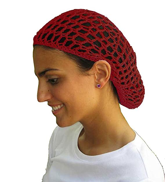 f62b30df06d Amazon.com  12 Beautiful Black Short Hair Net Snoods - Value Pack By  CoverYourHair  Clothing