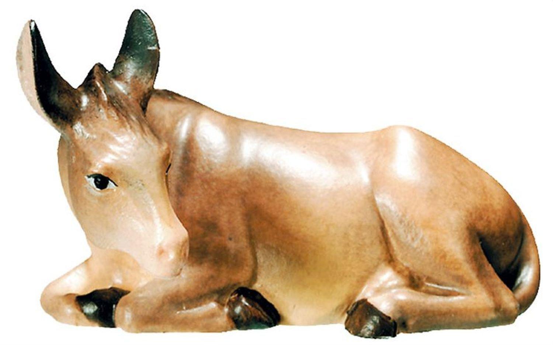 Esel Krippenfigur Matteo - Dolfi Schnitzereien Gröden