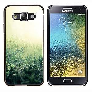 For Samsung Galaxy E5 E500 Case , Planta Naturaleza Forrest Flor 38- Diseño Patrón Teléfono Caso Cubierta Case Bumper Duro Protección Case Cover Funda