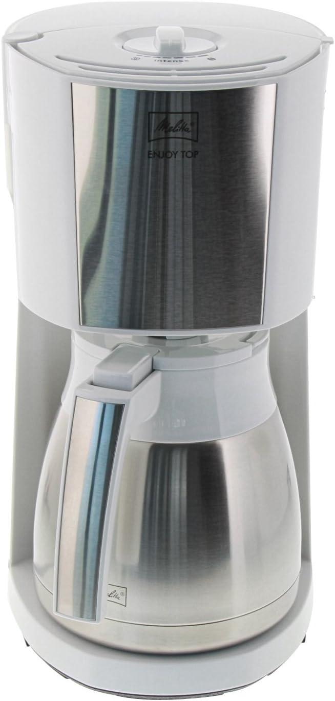 Melitta 1017-10 Libera installazione Macchina da caff/è con filtro 8tazze Nero Rosso