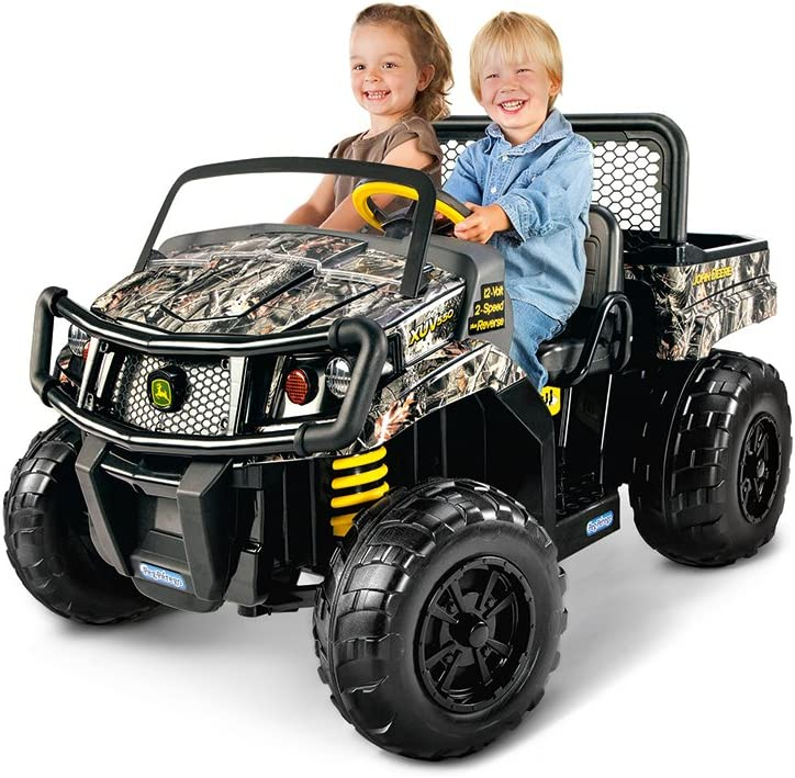 Peg Perego John Deere Gator Xuv Children's Powered Ride Ons, Camo, One Size (Amazon Exclusive)