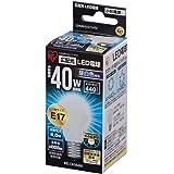 アイリスオーヤマ LED電球 E17口金 40W形相当 昼白色 広配光タイプ 密閉形器具対応 LDA4N-G-E17-4T2