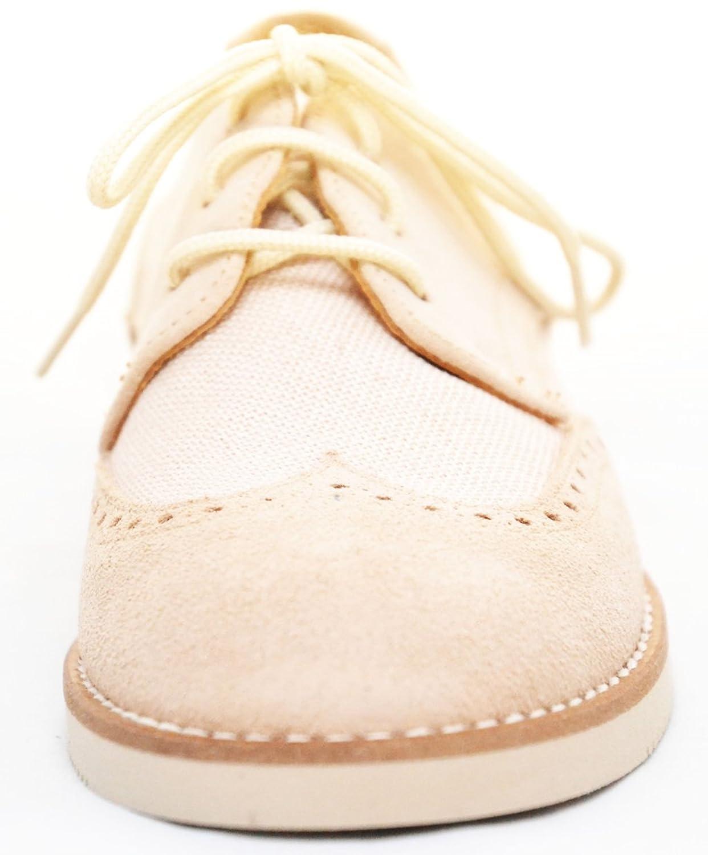 Patupeke 20333 Zapato De Comunion De Lino Y Ante 690XwHJK