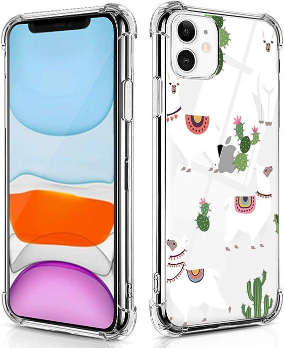 ALPACA BABY & FLOWERS iPhone 11 case