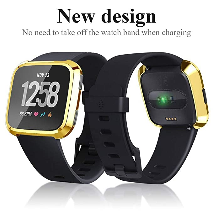 Amazon.com: Redvive Top for Fitbit Versa Screen Protector ...