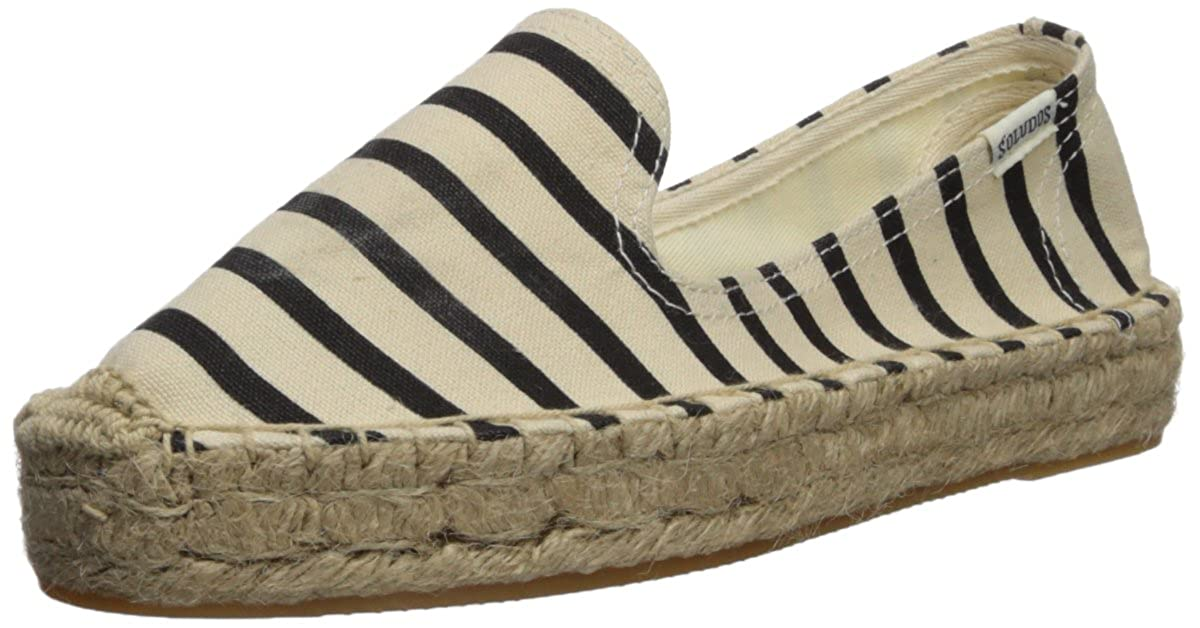 Soludos Women's Classic Stripe Smoking Slipper