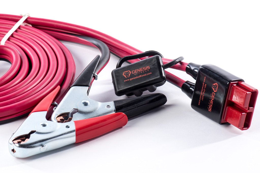 Genesis Offroad 15' Quick Connect Jumper Cables 163-qcjc15 by Genesis Offroad
