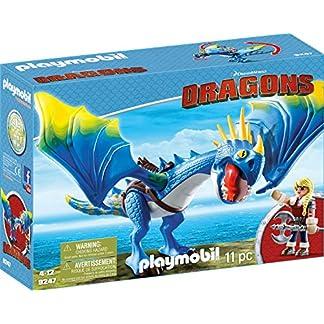 PLAYMOBIL 9247 - DreamWorks Dragons, Astrid und Sturmpfeil, Ab 4 Jahren 8
