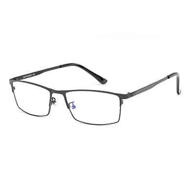 c7b4de783d6 Men Glasses Frame Vintage Optical Very light Myopia Clear Eyeglasses Frame  (black)  Amazon.co.uk  Clothing
