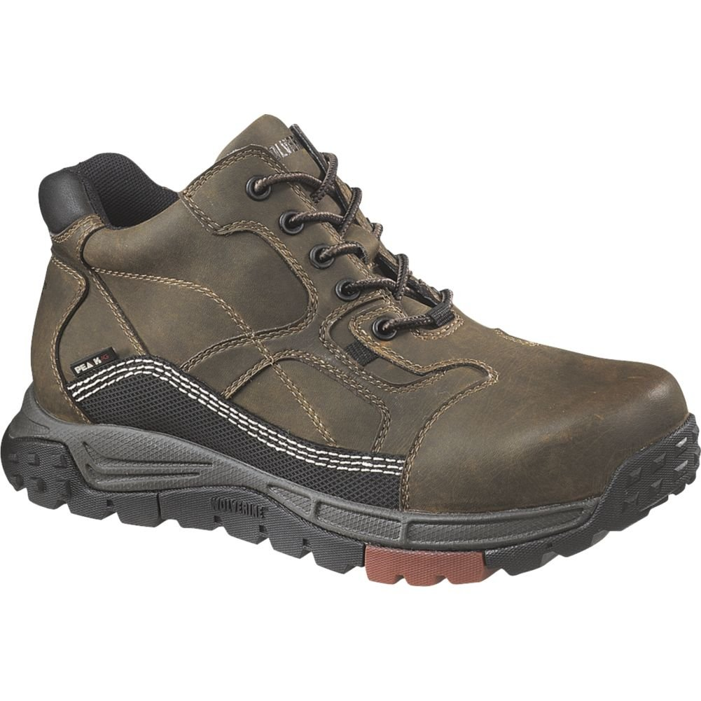 ef526e89e13 Wolverine Men's Red Tooth Mid Composite Toe EH Work Shoe
