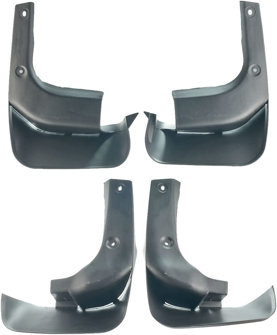 Set of 4 Mud Flaps Splash Guards for Lexus RX350 RX450h 2010-2015