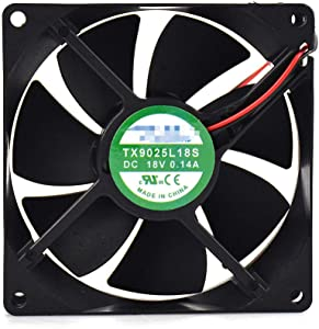 for TIANXUAN TX9025L18S 18V 0.14A 909025mm Refrigerator Thermostat Cooling Fan