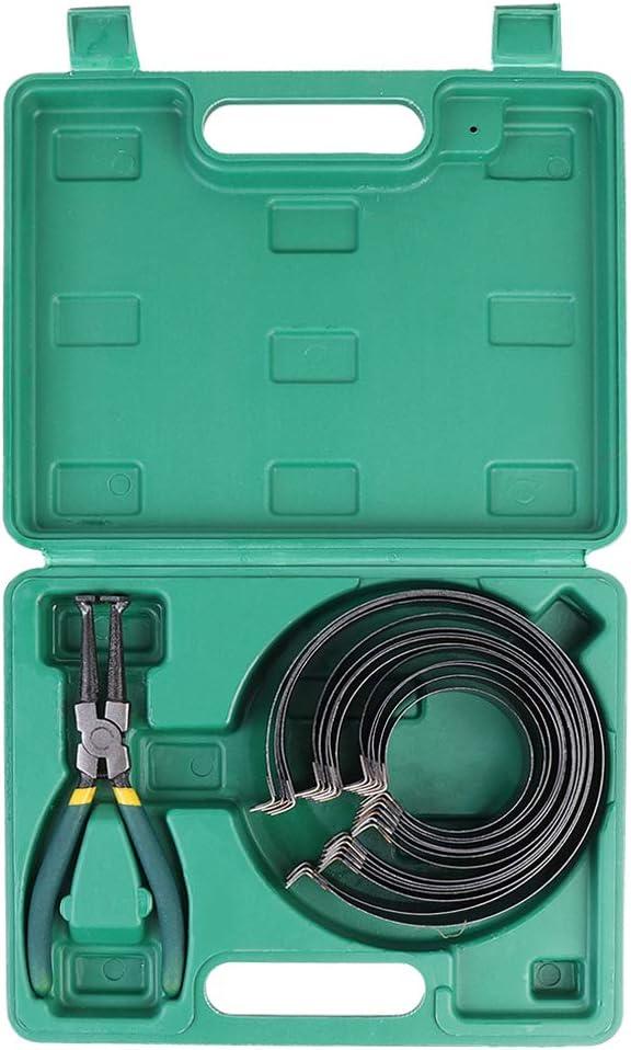 KUNTEC 7Pcs Piston Ring Compressor Tool Kit