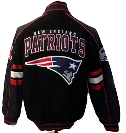Image Unavailable. Image not available for. Color  New England Patriots  Suede Jacket Leather Patriots Coat NFL ... 704543364