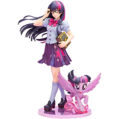 Kotobukiya My Little Pony: Twilight Sparkle Bishoujo Statue, Multicolor: Toys & Games
