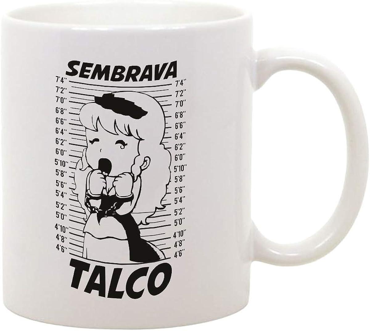 fashwork Tazza Mug in Ceramica Pollon Sembra Talco ma Non /è Anime Cartoon Film Movie Anni 80 Idea Regalo