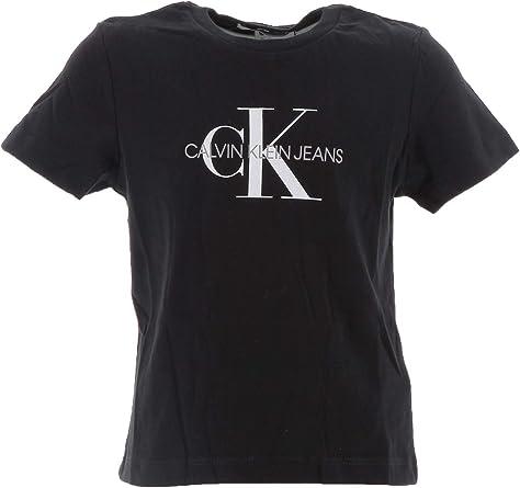 Calvin Klein IU0IU00068 Logo T-Shirt Camisetas Y Camisa DE Tirantes Girl: Amazon.es: Ropa y accesorios