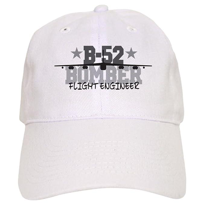 ce57235765f461 Amazon.com: CafePress B-52 Aviation Flight Engineer - Baseball Cap with  Adjustable Closure, Unique Printed Baseball Hat: Clothing