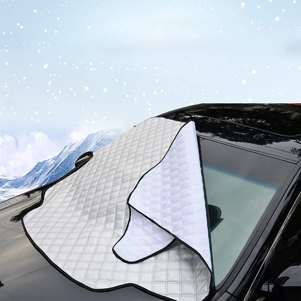 Lioobo Pare-soleil pliable pour pare-brise de voiture