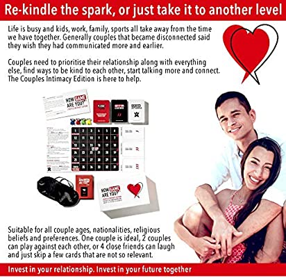 How Game Are You? Couple Intimacy Edition  Adults Board Game Encouraging  Meaningful Conversations Within Intimate Relationships  Perfect Couples  Game