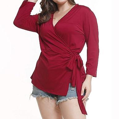 Amazon.com: UONQD - Camiseta de manga larga para mujer ...