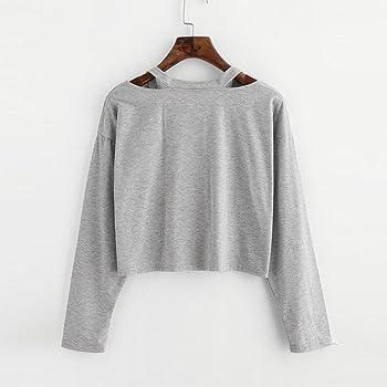 HUI.HUI Camiseta para Mujer camisetas t shirt Sudadera con ...