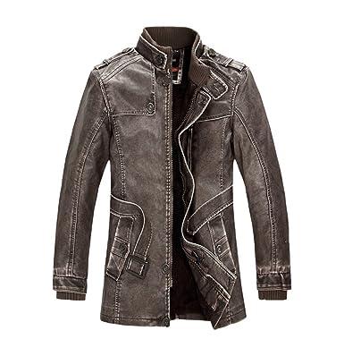 Herbst und winter neue herren business casual pelz einem jacke jacke pelz einem mantel plus samt verdickung
