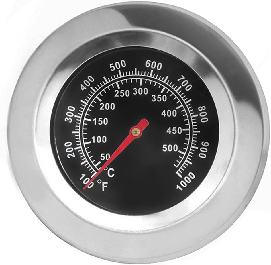 Smoker BBQ Thermometer Barbecue Grill Temperature Gauge Stainless Heating Tool