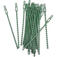 30pcs 16.5cm Plastico Bridas Jardineria Clips Planta Ata